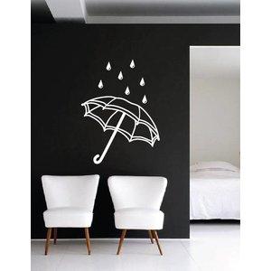 Wall Decal Umbrella
