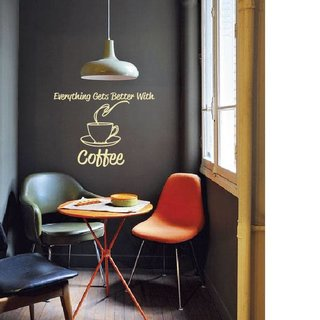 Wall Decal Coffee