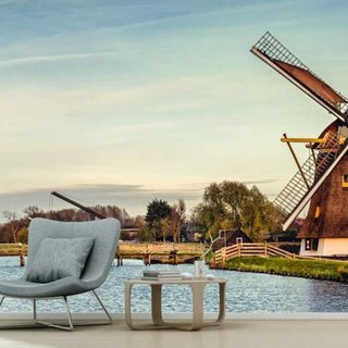 Self-adhesive photo wallpaper custom size - Mill 't Hoog- en Groenland