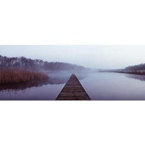 Fotobehang in de Mist