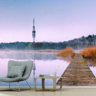 Selbstklebende Fototapete angepasst - Radio Hilversum