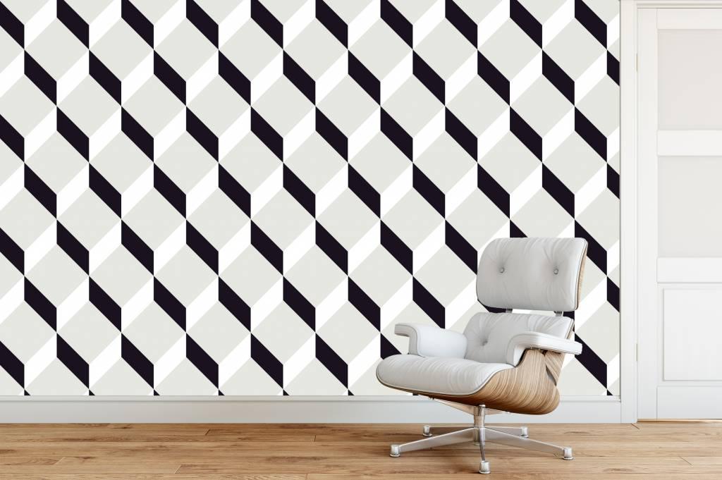 Self-adhesive photo wallpaper - Wallpaper Block Design | Walldesign56 Wall Decals - Murals - Posters