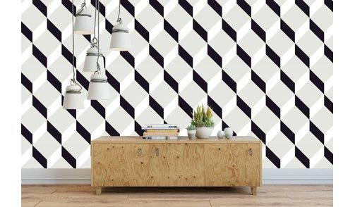 Photo Wallpaper Block Design