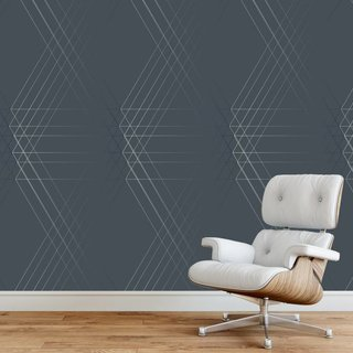 Self-adhesive photo wallpaper custom size - Wallpaper Line Geo Design