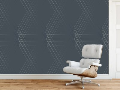Photo Wallpaper Line Geo Design