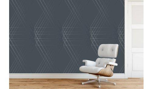 Zelfklevend fotobehang op maat - Line Geo Design