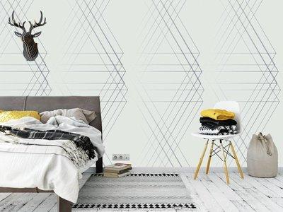 Mural Linie Geo Lichtdesign
