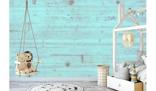 Selbstklebende Fototapete angepasst - Beton Pastell