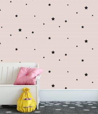 Wandtapete Stars