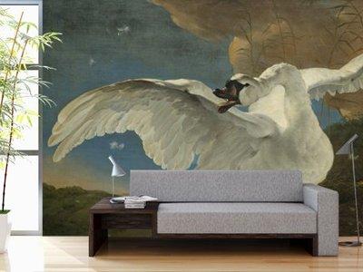 Mural Bedriegde Swan