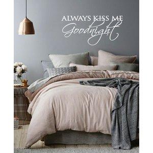 Wandtattoo Kiss Me immer gute Nacht