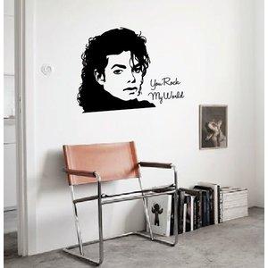 Wandaufkleber Michael Jackson