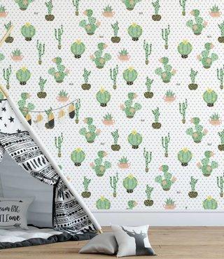 Wandtapete Cactus Dreams