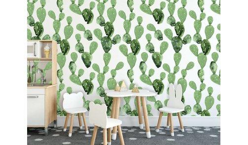 Self-adhesive photo wallpaper custom size - Cactus Dreams 2