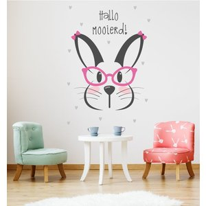 Wall sticker Rabbit - Hello Beautiful