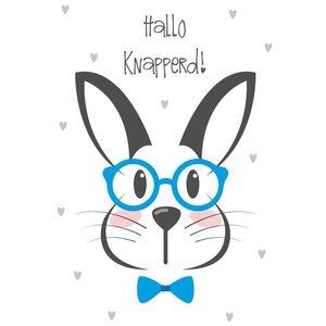 Wall sticker Rabbit - Hello Handsome