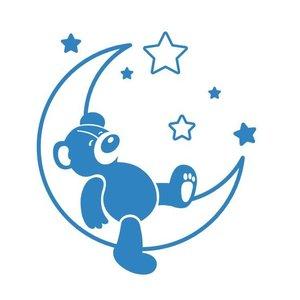 Muursticker Sweet Dreams Teddybear