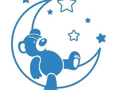 Wall Sticker Sweet Dreams Teddy Bear