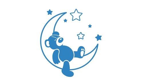 Wall Sticker - Sweet Dreams Teddy Bear