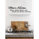 Wall Sticker Moms Kitchen