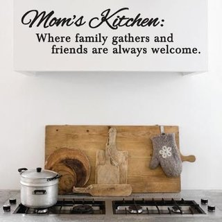 Muursticker - Moms Kitchen