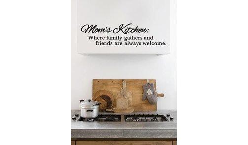 Muursticker - Moms Kitchen