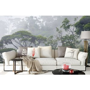 Wall mural Misty Forest