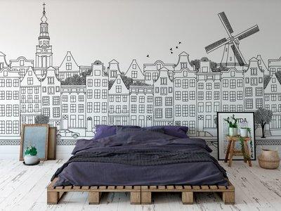 Wandtapete Amsterdam