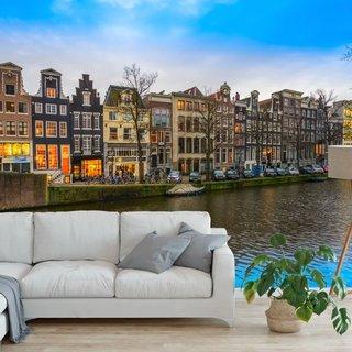 Selbstklebende Fototapete angepasst - Keizersgracht - Amsterdam