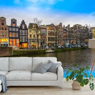 Self-adhesive photo wallpaper custom size - Keizersgracht - Amsterdam