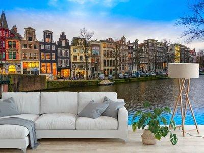 Fotobehang Keizersgracht Amsterdam