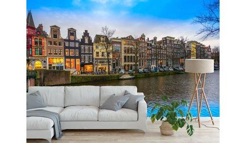 Zelfklevend fotobehang op maat - Keizersgracht - Amsterdam