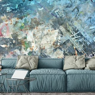 Self-adhesive photo wallpaper custom size - Urban Eclectic