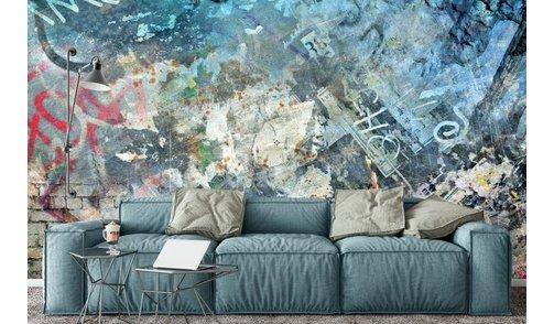Selbstklebende Fototapete angepasst -  Urban Eclectic