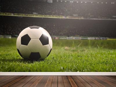 Wandtapete Fußballfan
