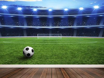 Wandtapete Fußballstadion