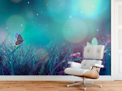 Fotobehang Vlinder