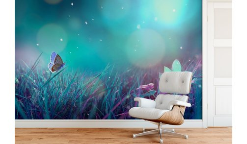 Self-adhesive photo wallpaper custom size - Butterfly