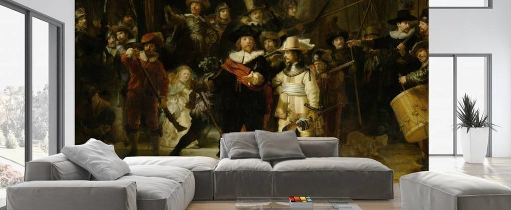 Fotobehang Rijksmuseum; Bekende meesterwerken