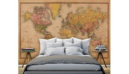 Wereld- en landkaarten