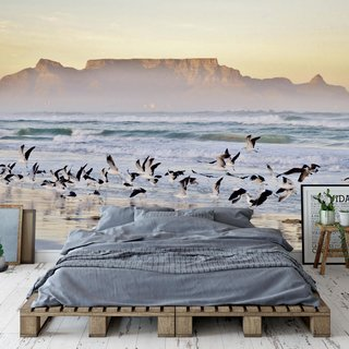 Self-adhesive photo wallpaper custom size - Beach Cape Town - South Africa