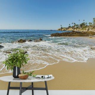 Selbstklebende Fototapete angepasst - Laguna Beach - Amerika