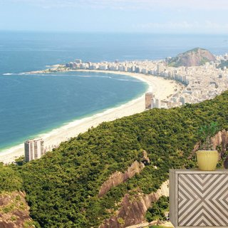 Self-adhesive photo wallpaper custom size - Copacabana - Brasil