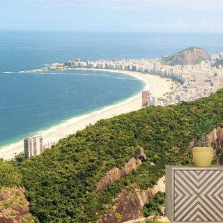 Zelfklevend fotobehang op maat - Copacabana - Brazilië