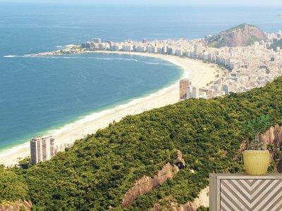 Wandtapete Copacabana