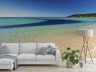 Wallpaper Saint Tropez Beach