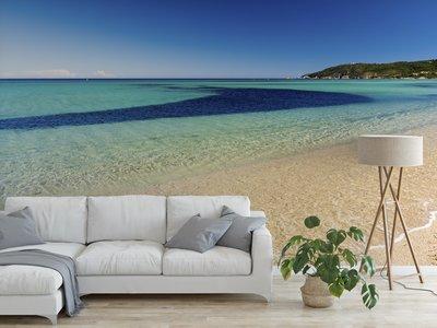 Wandtapete Strand Saint Tropez