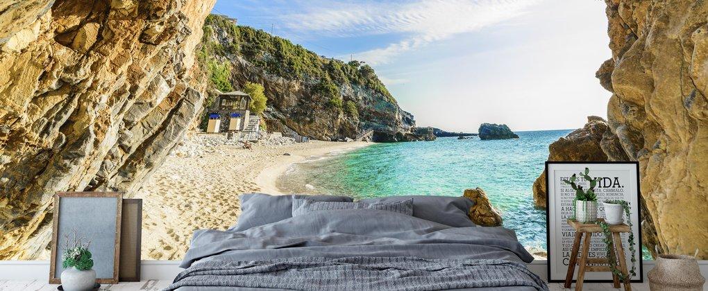 Paradijselijke stranden; Droom weg aan het strand