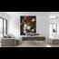 Walldesign56 Selbstklebende Fototapete - Stillleben mit Blumen in einer Glasvase - Jan Davidsz de Heem