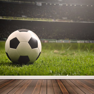 Selbstklebende Fototapete - Fußballfan
